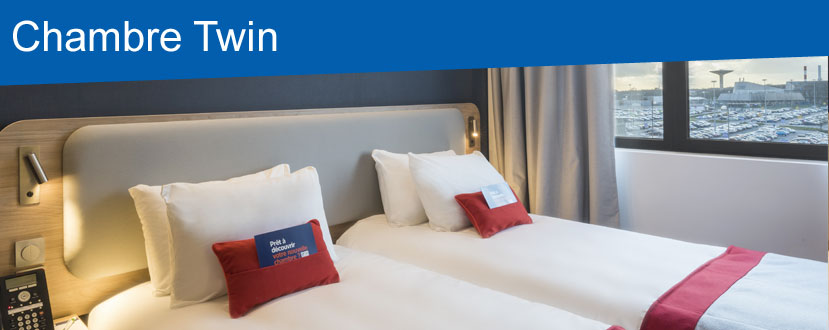 hotel paris holiday inn express cdg airport chambre twin